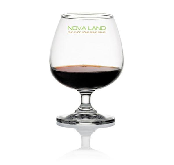 Ly Thủy Tinh Classic Brandy 255ml Giá In Logo