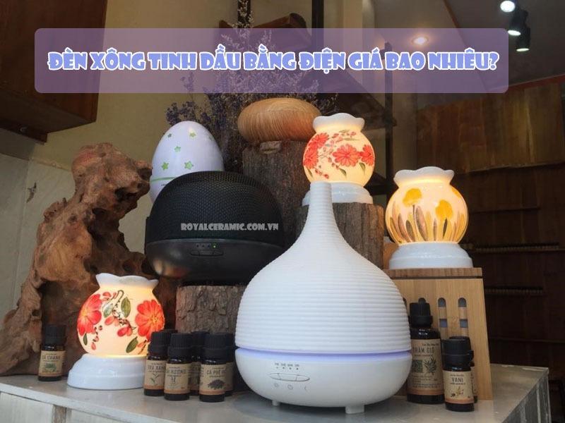 Mua đèn xông tinh dầu TPHCM ở đâu tốt?