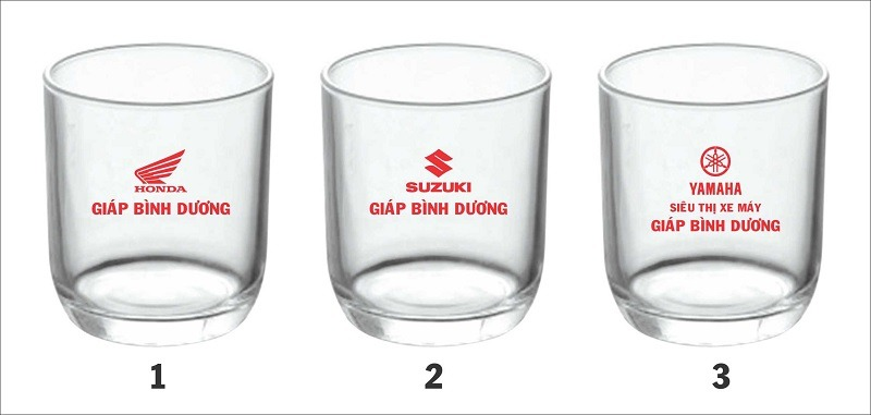 Ly Thủy Tinh Washington 430ml Giá In Logo