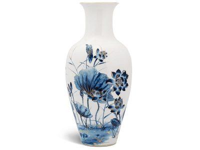 Bình hoa Minh Long, Bình hoa Minh Long 50 cm - Sen Vàng
