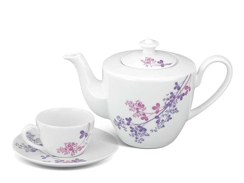 Bộ trà Minh Long Daisy Cỏ Tím 0.65L