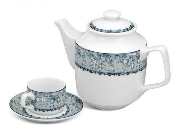 Bộ trà Minh Long, Bộ trà Minh Long Jasmine Vinh Quy Nhạt