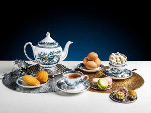 Bộ trà Minh Long, Bộ trà Minh Long Hoàng Cung Hồn Quê