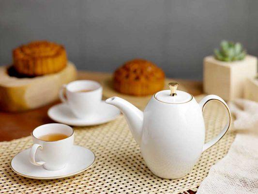 Bộ trà Minh Long, Bộ trà Minh Long Anna Cao Chỉ Vàng