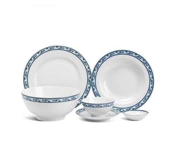 Bộ bàn ăn Minh Long, Bộ bàn ăn Minh Long Jasmine Chim Lạc