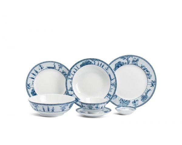 Bộ bàn ăn Minh Long, Bộ bàn ăn Minh Long Jasmine Thôn Dã