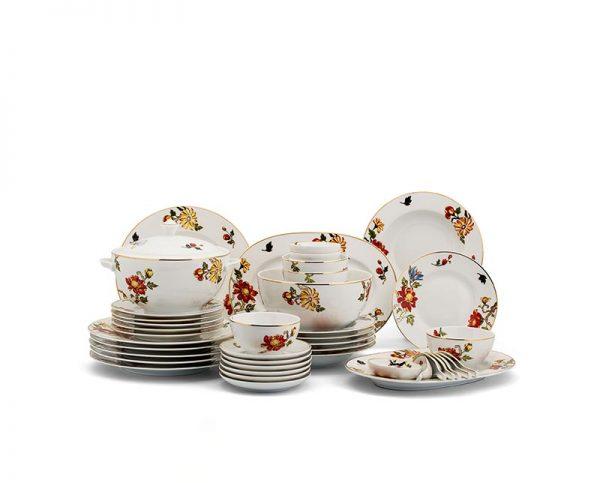 Bộ bàn ăn Minh Long, Bộ bàn ăn Minh Long Camellia Cát Tường