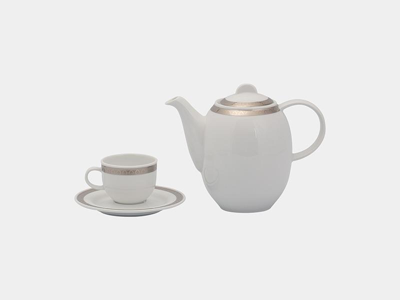 Bộ cà phê Minh Long Sago Thiên Tuế 0.8L