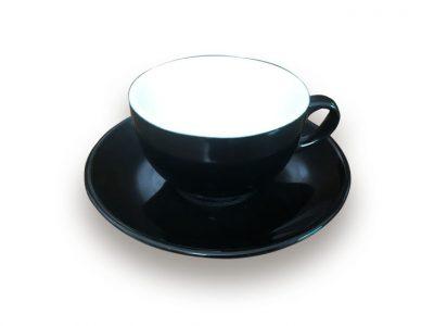 Ly Sứ Latte Bát Tràng 0.32L + Dĩa