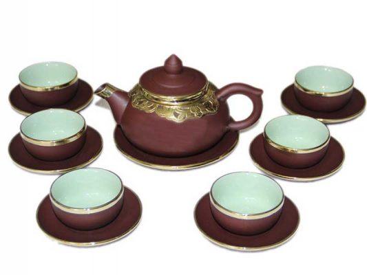 bộ ấm trà, bộ ấm chén. ấm trà bát tràng. Địa chỉ mua bộ ấm trà Bát Tràng cao cấp ?