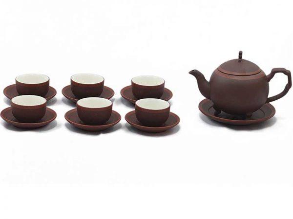 bộ ấm trà, bộ ấm chén. ấm trà bát tràng. Giải đáp thắc mắc: Bộ ấm tử sa Bát Tràng giá bao nhiêu?