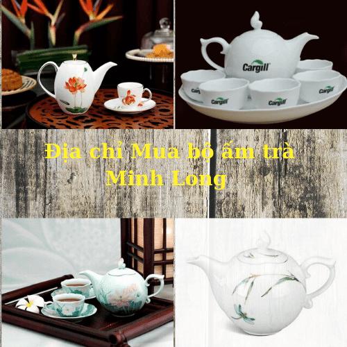Địa chỉ mua bộ ấm trà Minh Long