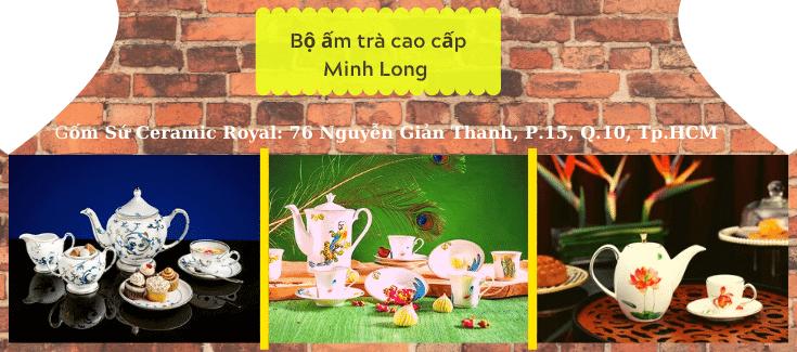 Vì sao nên in logo lên bộ ấm trà Minh Long để làm quà tặng?